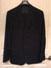 BROOKS BROTHERS 1818 Regent - Navy Pin Striped Suit - Size 42R/36