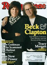 2010 Rolling Stone Magazine: Eric Clapton & Jeff Beck/Tracy Morgan/Girl Power