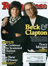 2010 Rolling Stone Magazine: Eric Clapton & Jeff Beck/Tracy Morgan/Girl Power