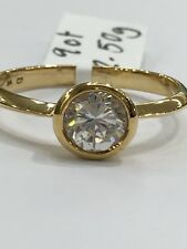 9ct Yellow Gold Cubic Zirconia Ring | Brand New Instore