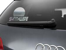 SYNTHWAVE SUN Sticker Car Decal Retro Wave 197mm x 141mm