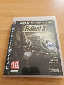 Fallout 3 - PS3 - Game of the Year Edition - KOMPLETT AUF DEUTSCH SPIELBAR!