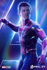 Poster A3 Vengadores Avengers Infinity War Spiderman Gemas Del Infinito Marvel