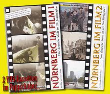 NÜRNBERG IM FILM 1 + 2 VHS 20.Jahrhundert NS Krieg AUFBAU Plärrer DÜRRER Hitler