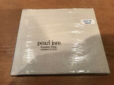 PEARL JAM Live 2-cd SEALED Houston TX October 15 2000 Official Bootleg #57