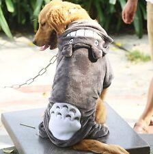 Large Dog Clothes Big Dogs Hoodie Coat Totoro Warm Halloween Pet Costume 3XL-9XL