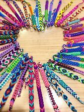 FRIENDSHIP BRACELETS Cotton Wholesale Bulk 25 Woven FAIR TRADE GIFTS Wristband