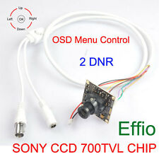 SUPER HAD SONY CCD 700TVL CHIP OSD Menu Control Effio-E 2DNR + 3.6mm Camera lens