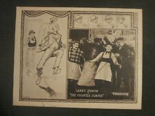 The Counter Jumper- Original Lobby Card - Larry Semon - Oliver Hardy
