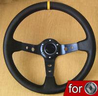 VOLANT TULIPE SPORT pour RENAULT 5 GT Clio Megane R5 Turbo Laguna 19 21 Chamade