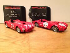 Brumm Limited Edition S033 #76 & R204 #602 - 2x 1954 Lancia Red D24's