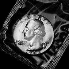 1982 D  Washington Brilliant Uncirculated Quarter ~ From Souvenir Mint Set