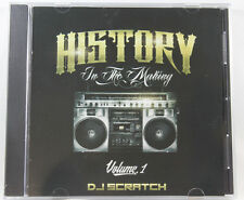 HISTORY IN THE MAKING VOL.1 OLD HOUSE & CLASSICS CD MIXED BY DJ SCRATCH WBMX