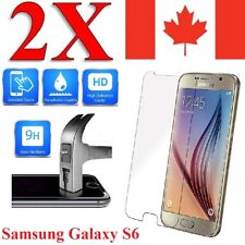 Premium Screen Protector Cover for Samsung Galaxy S6 (2 Pack)
