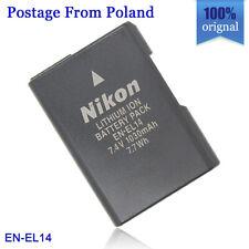 Genuine original Nikon EN-EL14 Battery for P7700 P7000 P7100 D3200 D3100 MH-24
