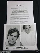 JAMES TAYLOR 'THE COLLECTION' 2000 PRESS KIT--PHOTO