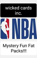🔥 NBA/Basketball Mystery Fun Fat Packs🔥 100 Total Cards**Read Full Description