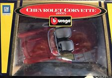 BURAGO 1957 CHEVROLET CORVETTE 1/18 SCALE NEW IN BOX