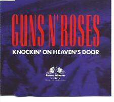 GUNS N' ROSES Knockin' On Heaven's Door 2T German CD si  FREDDY MERCURY TRIBUTE
