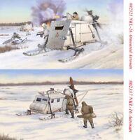 Trumpeter 02321/02337 1/35 Scale Soviet NKL-26/NKL-16 Armoured/Aerosan Model Kit