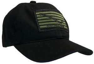 Don't Tread On Me 'Dad' Cap Navy Jack 100% Unstructured Cotton Hat Black and OD