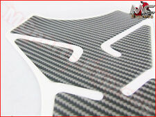Carbon Fiber Pattern Gas Tank Protector Pad Sticker for Hyosung Motorcycles