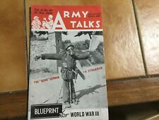 Army talks US ARMY du 25 novembre 1944
