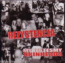REZYSTENCJA - MY JESTESMY SKINHEADS CD