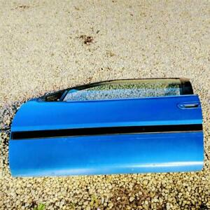 1990-94 Plymouth Laser Eagle Talon Mitsubishi Eclipse Blue LH Driver Door OEM