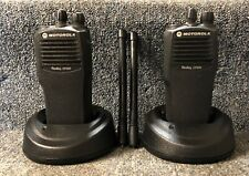 CP200 VHF 4 Channel Set of 2 Radios CP 200 Very Good AAH50KDC9AA1AN Buy 1-7 sets