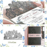 Stanzschablone Blume Weihnachten Hochzeit Geburtstag Oster Einladung Karte Album