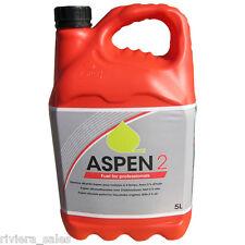 ASPEN 2 ALKYLATE PETROL 5L CAN 50:1 PREMIXED 2 STROKE FUEL COLLECT FROM BRIDPORT