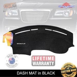 DASH MAT CHRYSLER 300C in BLACK 6/2012-2020 DM1283 SRT8 300S