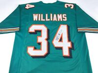Ricky Williams Signed Autographed Football Jersey JSA COA Miami Dolphins Great