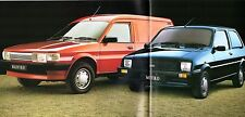 Austin Rover Metro & Maestro Van 1990 UK Market Sales Brochure