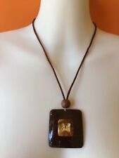 Ladies Necklace Hand Made Women Girls Beautiful Coconut Shells Lovely  Fashion
