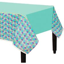 MERMAID WISHES PARTY SUPPLIES PAPER TABLECLOTH TABLE COVER