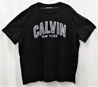 Calvin Klein Jeans Calvin NY Black T Shirt Size 3XL