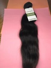 """Outre Simply 100% Non-processed Brazilian_NATURAL WAVE_16""""_#N. BLACK"""