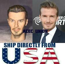 "1/6 David Beckham Custom Head Sculpt For 12"" Hot Toys Male Body - USA SELLER"
