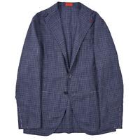 NWT $2895 ISAIA Unlined Lightweight Wool-Silk-Linen Sport Coat 38 R Slim-Fit