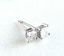 Cubic Zirconia Alloy White Gold Plated Costume Earrings