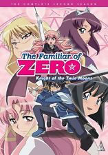 The Familiar Of Zero . Season 2 . Knight Of The Twin Moons . Anime . 2 DVD NEU