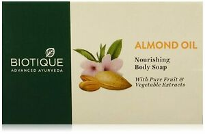 Bio Almond Oil Body Soap From Biotique(75g) Free Shipping Worldwide