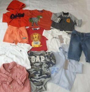 6-9 month boys bundle monsoon joules adidas GAP benetton Ralph Lauren oshkosh (Y