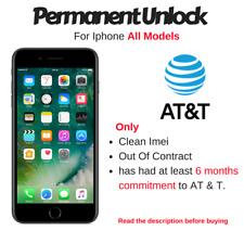 PREMIUM Unlock Code Service AT&T | ATT IPHONE 4S 5 5S 5C 6 6S 6S PLUS SE 7 7S
