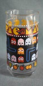 Vintage 1980 Pac Man drinking glass NOS