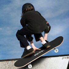 Skateboard Komplettboard 79x20 cm Holzboard für Anfänger mit ABEC-7 Kugellager 1