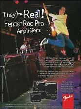 The 1997 Fender Roc Pro Series guitar amp ad 8 x 11 amplifier advertisement