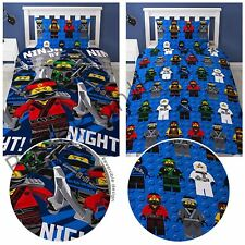 Lego Ninjago Movie Ninja Single Duvet Cover and Pillowcase Set